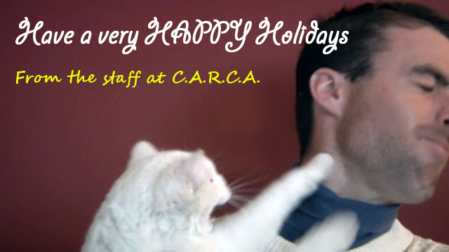 Happy Holidays from CARCA